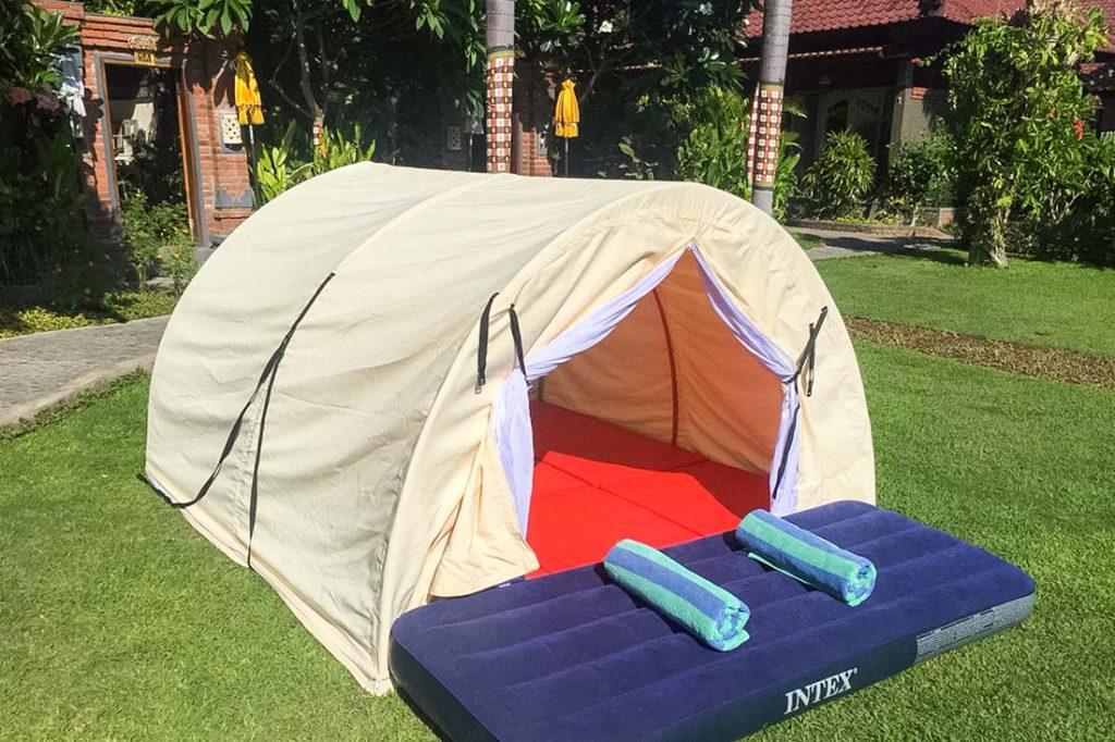 Menjangan Indonesie kamperen
