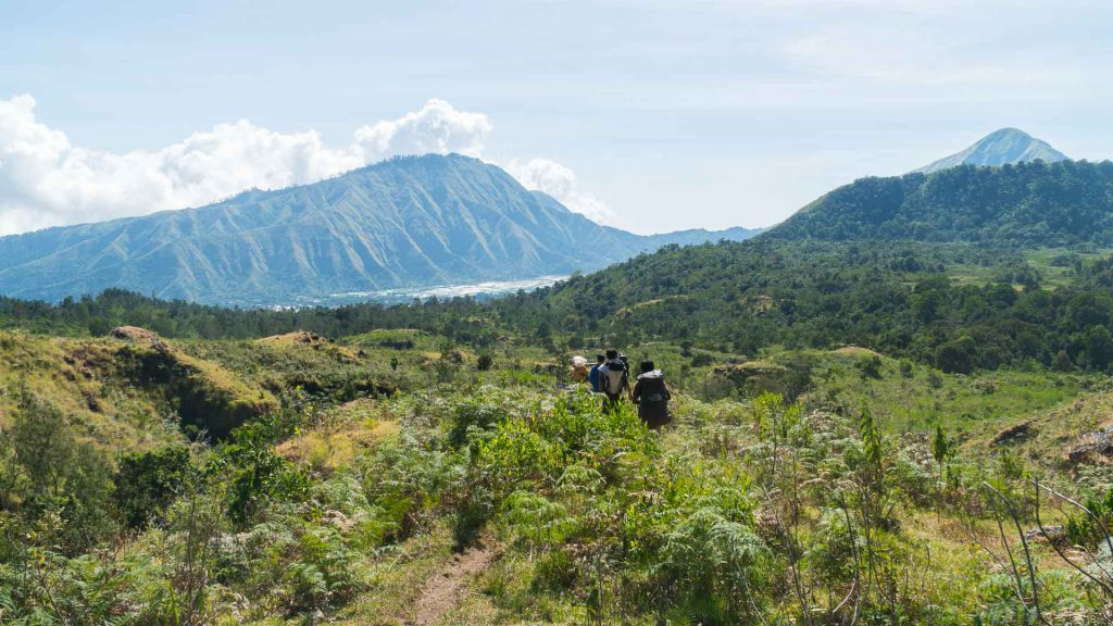 Rinjani Indonesie heuvels