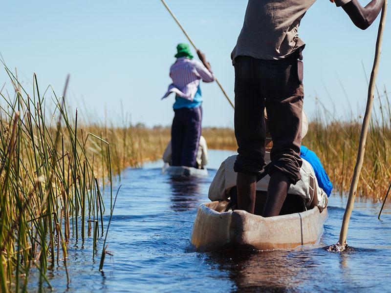 Okavango Delta Canoo