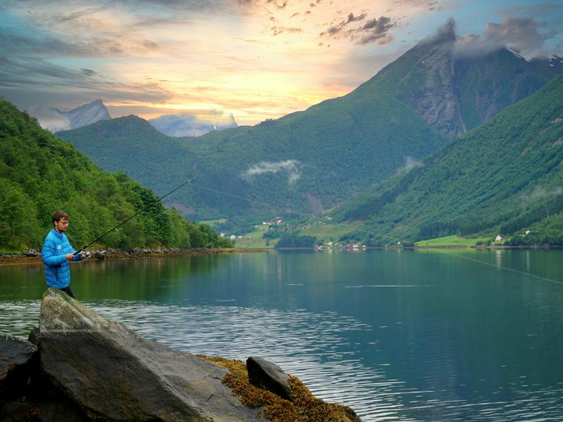 vissen-noorwegen-wildkamperen